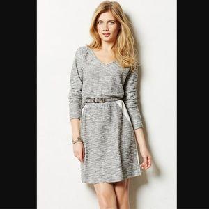 Anthro Saturday Sunday Gael Gray Sweater Dress